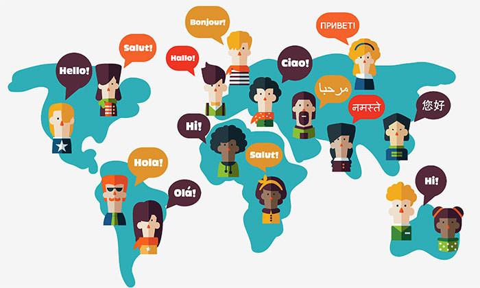 langues dans le monde